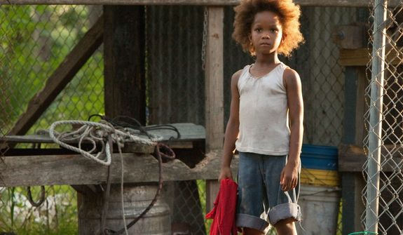 "FILE - This film image released by Fox Searchlight Pictures shows Quvenzhane Wallis portraying Hushpuppy in a scene from, ""Beasts of the Southern Wild."" ""Flight,"" ""Django Unchained,"" ""Beasts of the Southern Wild,"" ""Red Tails"" and ""Tyler Perry's Good Deeds"" are up for the outstanding motion picture trophy at the 44th annual NAACP Image Awards. (AP Photo/Fox Searchlight Pictures, Mary Cybulski)"
