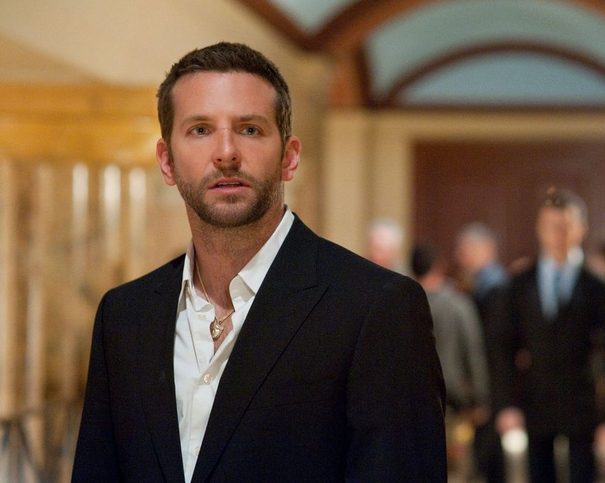 "FILE - This publicity film image released by The Weinstein Company shows Bradley Cooper in ""Silver Linings Playbook."" Cooper was nominated for an Academy Award for best actor on Thursday, Jan. 10, 2013, for his role in the film. The 85th Academy Awards will air live on Sunday, Feb. 24, 2013 on ABC. (AP Photo/The Weinstein Company, JoJo Whilden, File)"