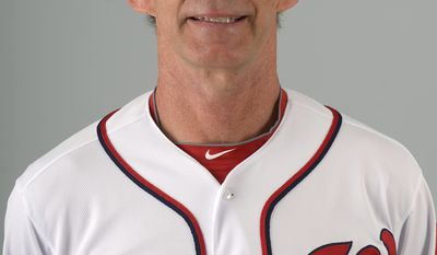 This is a 2013 photo of Jim Lett of the Washington Nationals baseball team. This image reflects the Nationals active roster as of Feb. 20, 2013 when this image was taken.(AP Photo/Phelan M. Ebenhack)