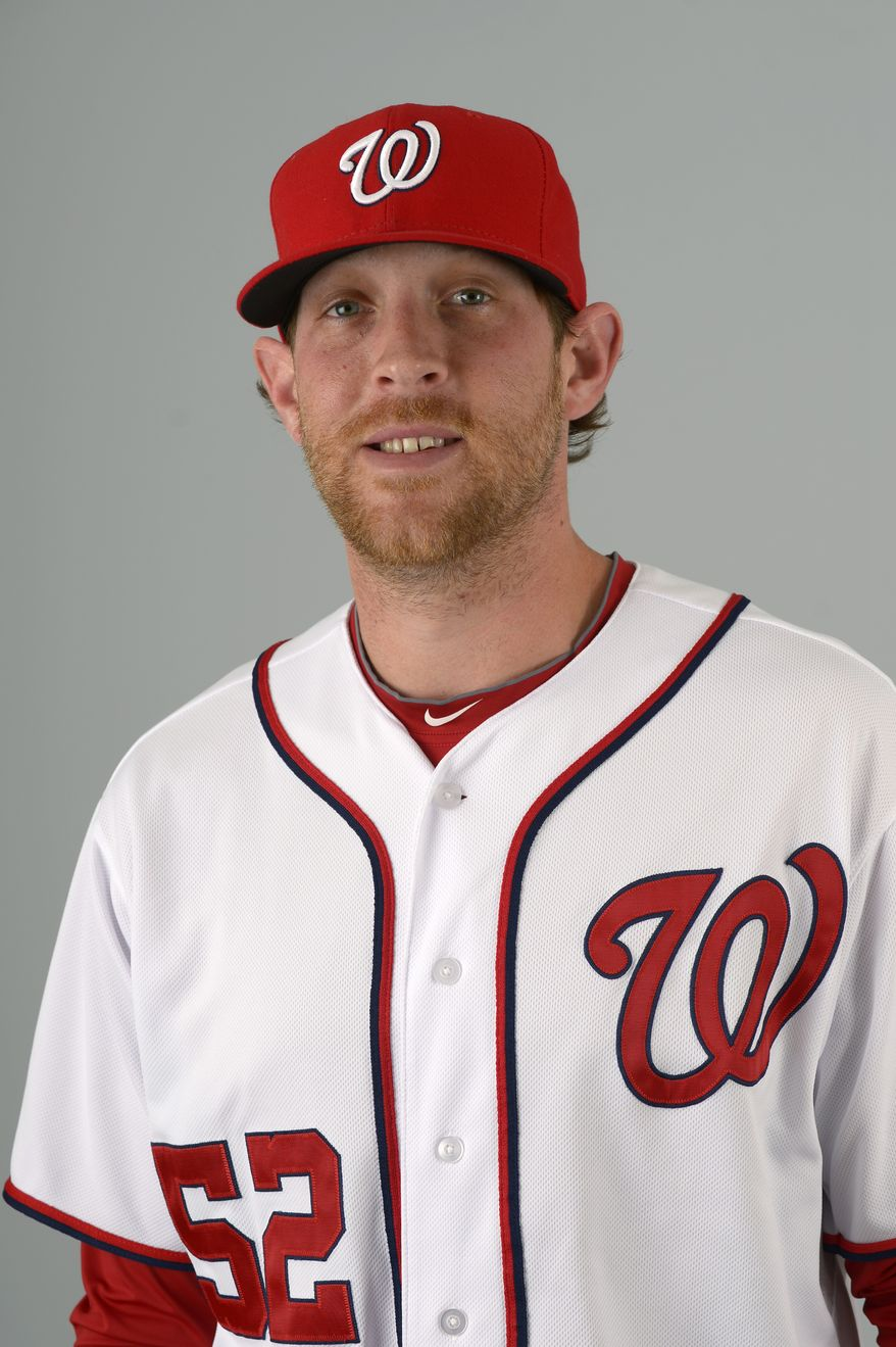 This is a 2013 photo of Ryan Mattheus of the Washington Nationals baseball team. This image reflects the Nationals active roster as of Feb. 20, 2013 when this image was taken.(AP Photo/Phelan M. Ebenhack)