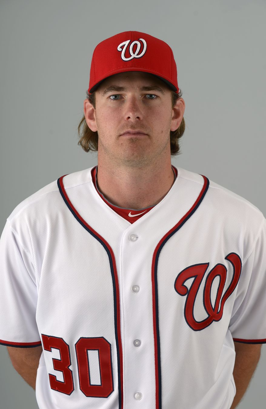 This is a 2013 photo of Zach Duke of the Washington Nationals baseball team. This image reflects the Nationals active roster as of Feb. 20, 2013 when this image was taken.(AP Photo/Phelan M. Ebenhack)