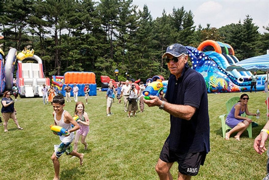 Vice President Joseph R. Biden posted this photo of summer fun on his twitter feed in 2012.