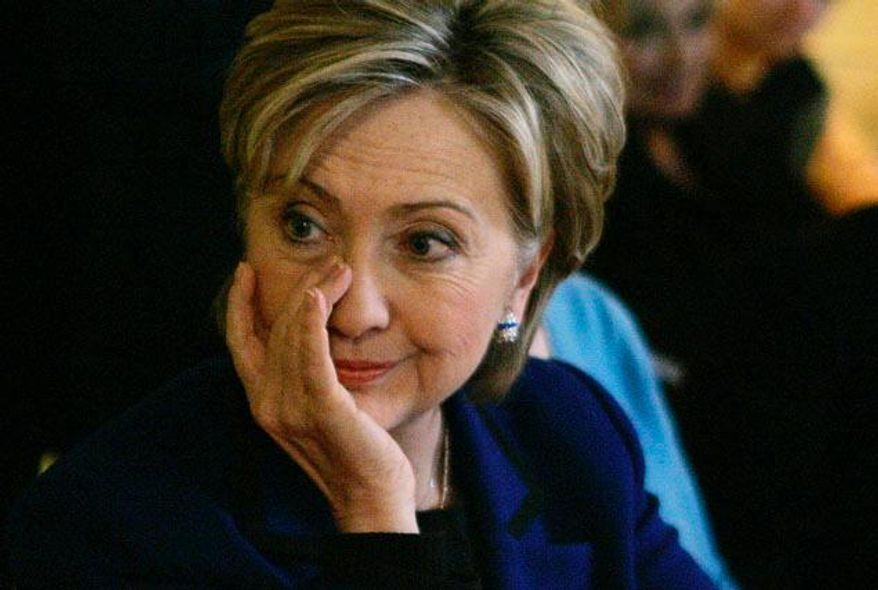 Hillary Rodham Clinton gets emotional prior to the 2008 Democratic vote in New Hampshire.