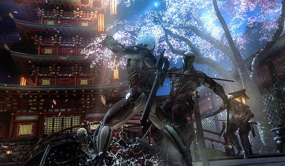 Raiden's battle cyborgs in the video game Metal Gear Rising: Revengeance.
