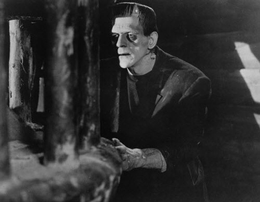 "Actor Boris Karloff in 1931's ""Frankenstein."" (Associated Press)"