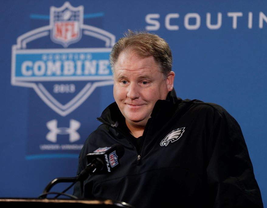 Chip Kelly is the first new Eagles coach in 15 years. The former Oregon coach brings a high-scoring philosophy to the NFL, and the rest of the NFC East is paying close attention. (Associated Press)