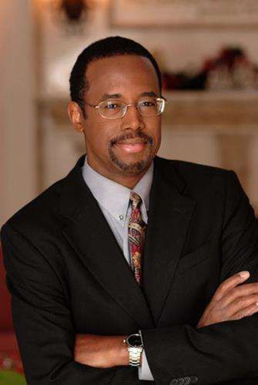 ** FILE ** Dr. Ben Carson (Image provided by Dr. Ben Carson)