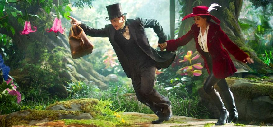 "James Franco stars in ""Oz the Great and Powerful"""