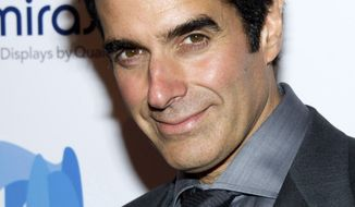 David Copperfield (AP Photo/Charles Sykes)