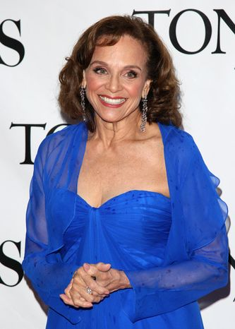 Actress Valerie Harper arrives at the 61st annual Tony Awards in New York on June 13, 2010. (AP Ph
