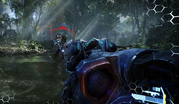 Use the Nanosuit's maximum armor and tap into alien weapons to defeat the Ceph  in first person shooter Crysis 3.