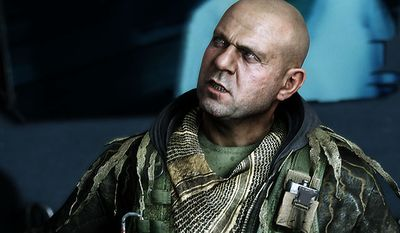 Meet Prophet's good buddy Psycho  in the video game Crysis 3.