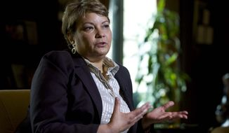 **FILE** Former Environmental Protection Agency Administrator Lisa P. Jackson (Associated Press)