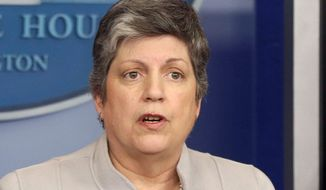 Homeland Security Secretary Janet A. Napolitano has not answered requests for details on who gave final approval to release illegal immigrants from jails. (Associated Press)