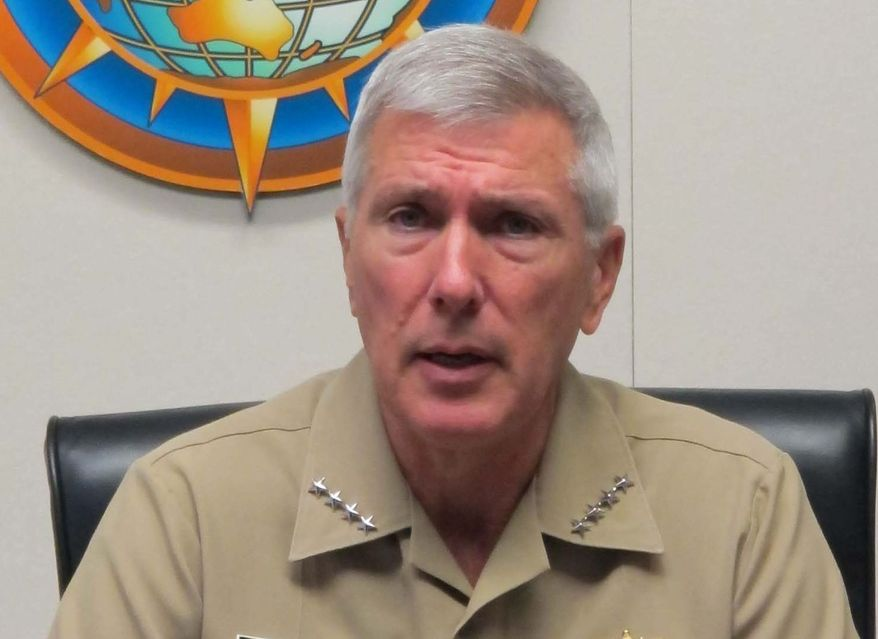 U.S. Pacific Command leader Adm. Samuel J. Locklear III.