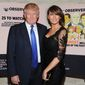 Donald Trump and Melania Trump attend The New York Observer's 25th anniversary party at The Four Seasons Restaurant on Thursday, March 14, 2013, in New York. (Photo by Evan Agostini/Invision/AP) ** FILE **