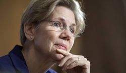 ** FILE ** Sen. Elizabeth Warren, D-Mass., on Capitol Hill in Washington, Thursday, March 7, 2013. (AP Photo/Cliff Owen)
