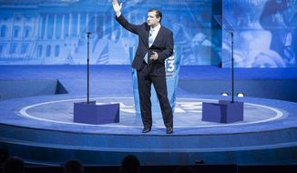 Sen. Ted Cruz, Republican of Texas, closes out the Conservative Political Action Conference.