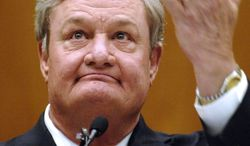 North Dakota Gov. Jack Dalrymple, a Republican, has not said whether he will sign either of the bills passed to limit abortions. (Associated Press)