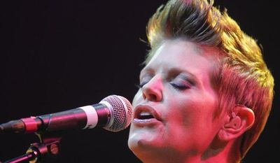 Natalie Maines performs during the SXSW Music Festival in Austin, Texas, on Wednesday, March 13, 2013. (Jack Plunkett/Invision/AP Images)