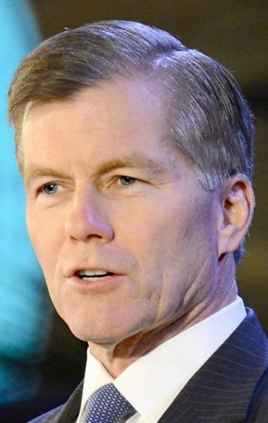 Virginia Gov. Bob McDonnell has upset some fellow Republicans by taking unpopular policy stances. (Associated Press)
