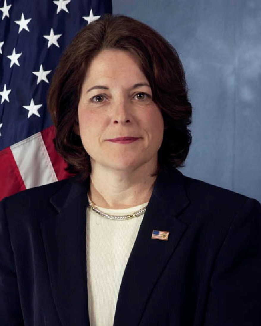 Julia Pierson, U.S. Secret Service chief of staff. President Obama to name her new agency director. (Government photo)