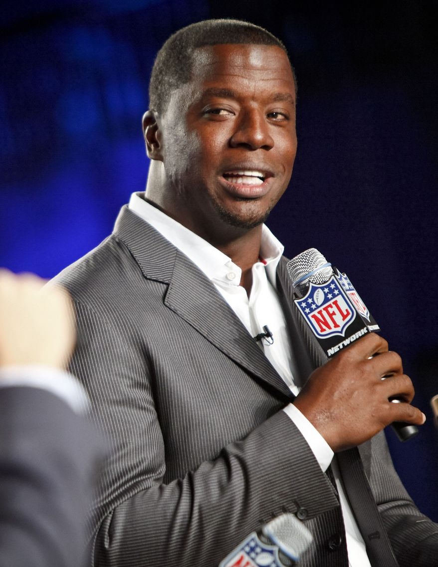 Former Pittsburgh Steelers player Kordell Stewart is pictured during the DirecTV NFL Fantasy Week at the Best Buy Theatre in New York on Thursday, Aug. 23, 2012. (AP Photo/National Football League, Brian Ach)