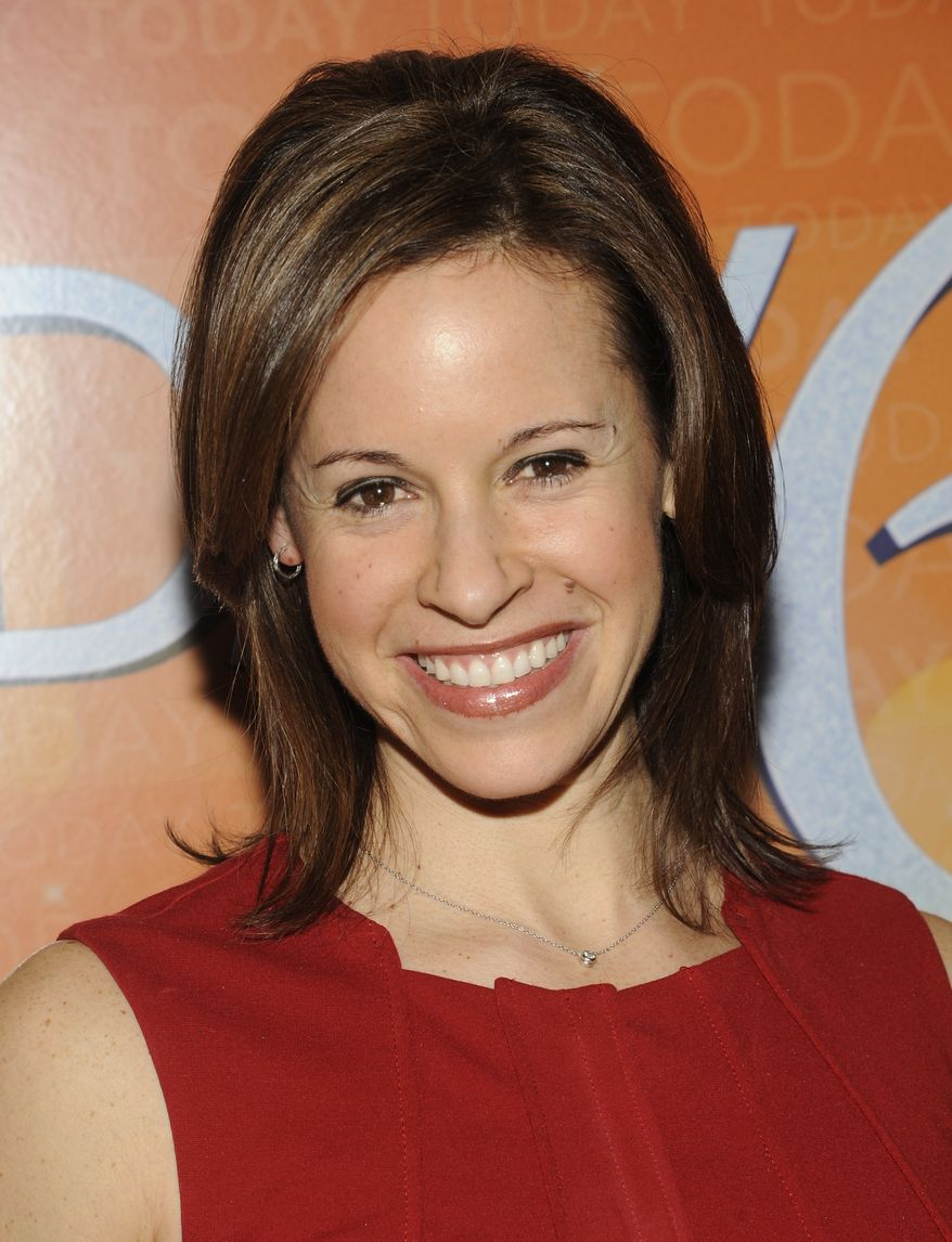 """**FILE** """"Today"""" show correspondent Jenna Wolfe attends the """"Today"""" show's 60th anniversary celebration at the Edison Ballroom on Jan. 12, 2012 in New York. (Associated Press)"""