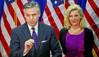 ** FILE ** Former Utah Gov. Jon Huntsman Jr. (Associated Press)