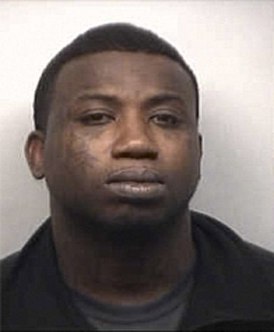 Rapper Gucci Mane, whose real name is Radric Davis, appears in a booking photo from the Fulton County Jail in Atlanta on Tuesday, March 26, 2013. (AP Photo/Fult