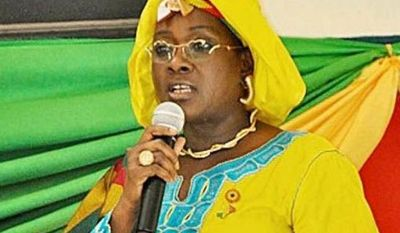 Haidara Aissata, the lone woman in Mali's parliament.