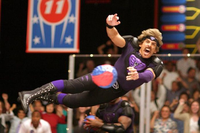 "** FILE ** Ben Stiller stars in 2004's ""Dodgeball: A True Underdog Story."" (Associated Press)"