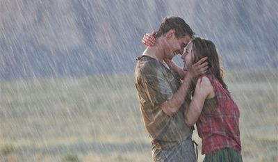 """Max Irons, left, and Saoirse Ronan in a scene from """"The Host."""" (AP Photo/Open Road Films, Alan Markfield)"""