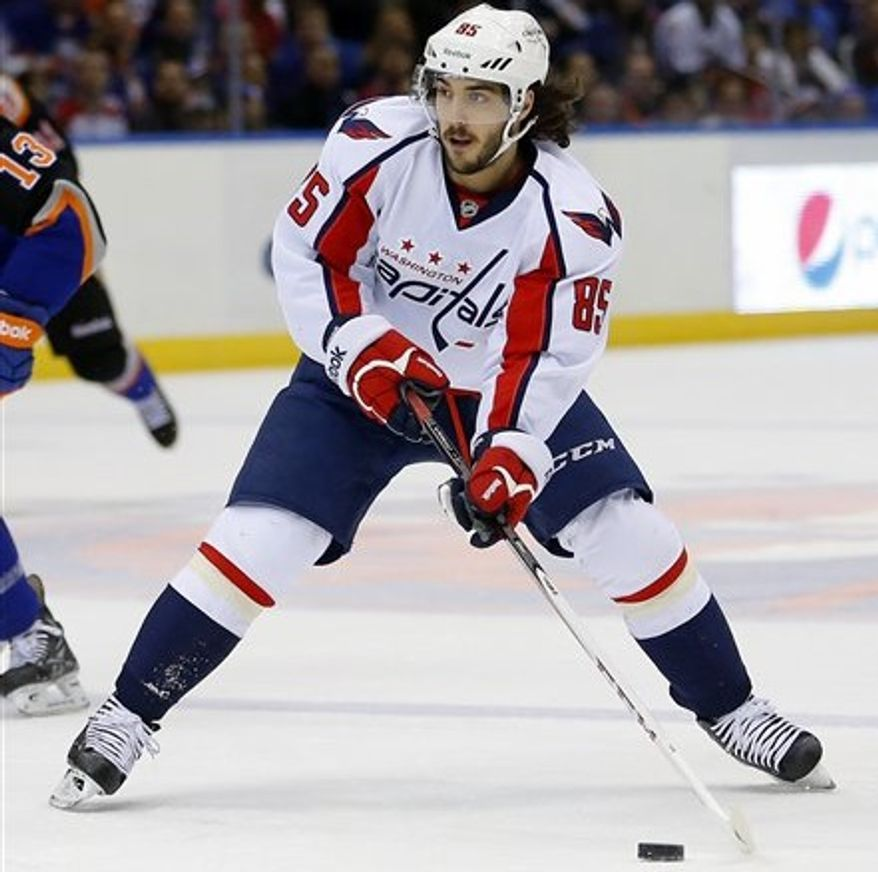 Mathieu Perreault had his visor break three times in the past three seasons. (Associated Press)