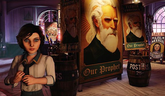 Elizabeth co-stars in the video game Bioshock Infinite.
