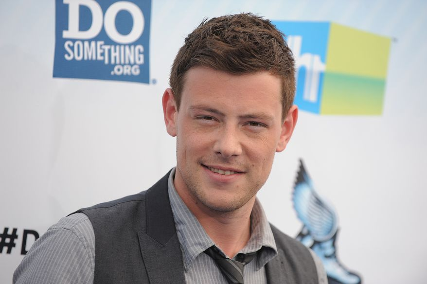 """Glee"" singer-actor Cory Monteith attends the 2012 Do Something Awards in Santa Monica, Calif., on Sunday, Aug. 19, 2012. (Jordan Strauss/Invision/AP)"