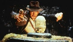 "Harrison Ford stars as Indiana Jones in 1981's ""Raiders of the Lost Ark"". (Associated Press)"