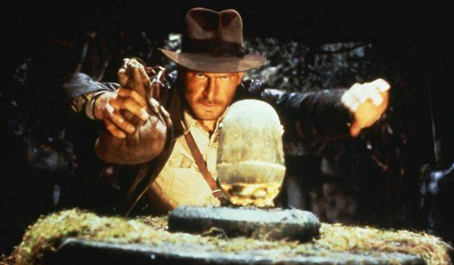 "Harrison Ford stars as Indiana Jones in 1981's ""Raiders of the Lost Ark"". (Associated Press/File)"