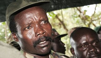 Joseph Kony heads the Lord's Resistance Army, a group which originated in northern Uganda and is notorious for massacring civilians and using child soldiers. (Associated Press)