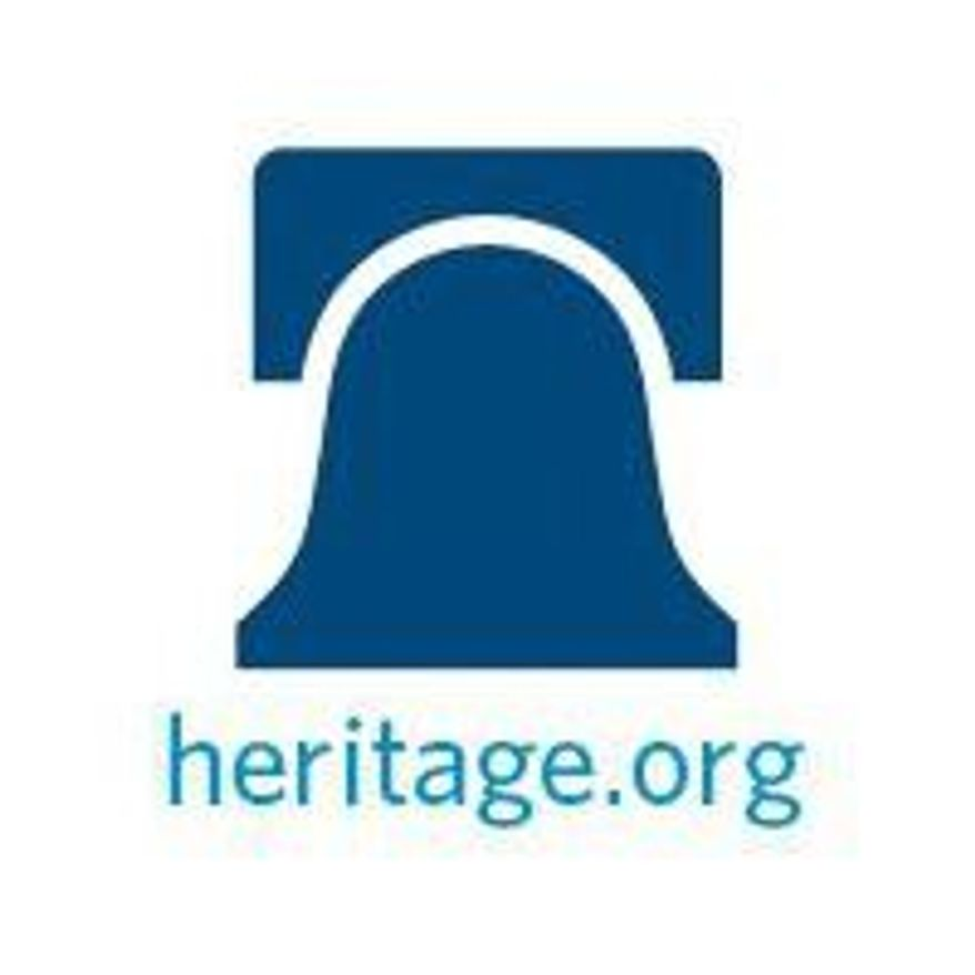 The Heritage Foundation logo.