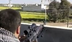** FILE ** Fighters from the Syrian Free Army fire on a Syrian army position in Deal, Syria, less than 10 miles from the Jordanian border in Daraa province, on Thursday, March 28, 2013, in an image taken from video that was authenticated based on its contents and other AP reporting. (AP Photo/Ugarit News via AP video)