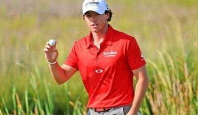 Rory McIlroy won the 2012 PGA Championship by eight shots, which was also his margin of victory in the 2011 U.S. Open. (Zach Boyden-Holmes / The Augusta Chronicle)