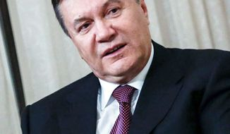 **FILE** Ukrainian President Viktor Yanukovych (Associated Press)