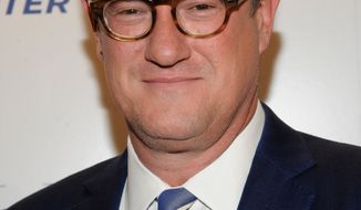 **FILE** Joe Scarborough arrives at the Hollywood Reporter 35 Most Powerful People in Media event in New York on April 11, 2012. (Associated Press/The Hollywood Reporter)