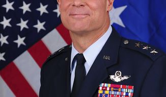 U.S. Air Force Lt. Gen. Craig Franklin (AP Photo/U.S. Air Force)