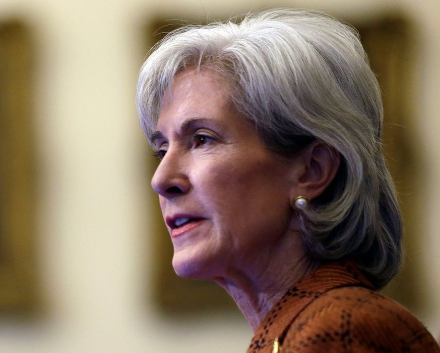 Health and Human Services Secretary Kathleen Sebelius discussed birth control policy at a forum Monday at the Harvard School of Public Health. (Associated Press)