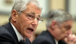 """Defense Secretary Chuck Hagel said fierce political resistance last year killed proposals such as base closures and increasing health care enrollment fees, which are included in the White House's $526.6 billion defense budget request. Mr. Hagel, however, noted times have changed, saying, """"We are now in a different fiscal environment."""" (Associated Press)"""