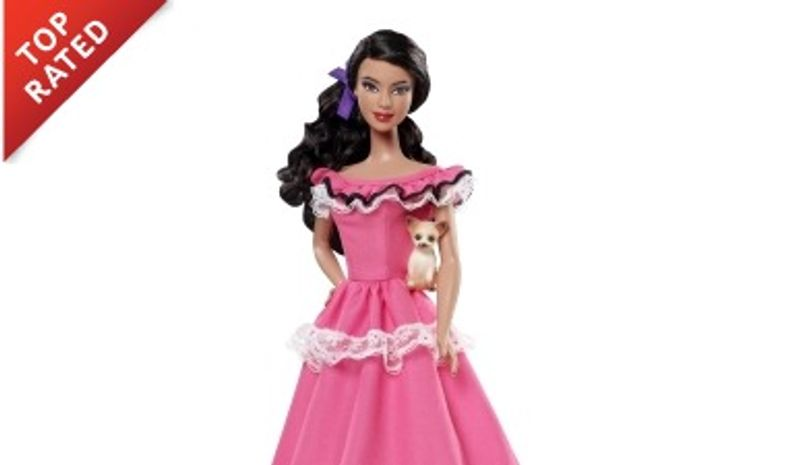 """Mexican Barbie, one of Mattel's """"Dolls of the World"""" line (Mattel.com)"""