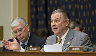 **FILE** Rep. Dana Rohrabacher, California Republican (Associated Press)