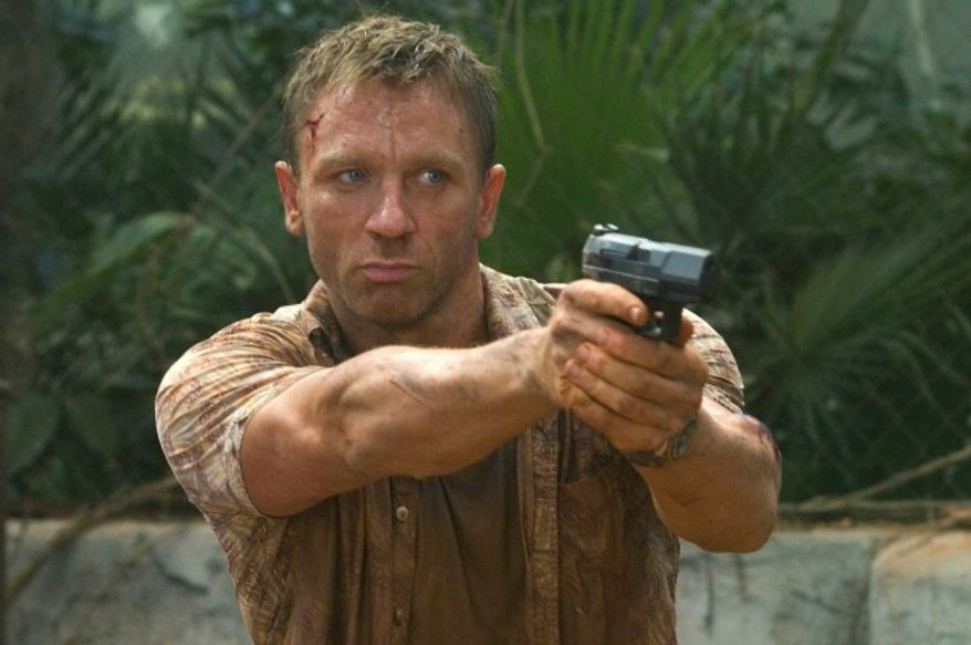 """Actor Daniel Craig portrays James Bond in a scene from the latest 007 movie, """"Casino Royale."""" (Sony Pictures)"""